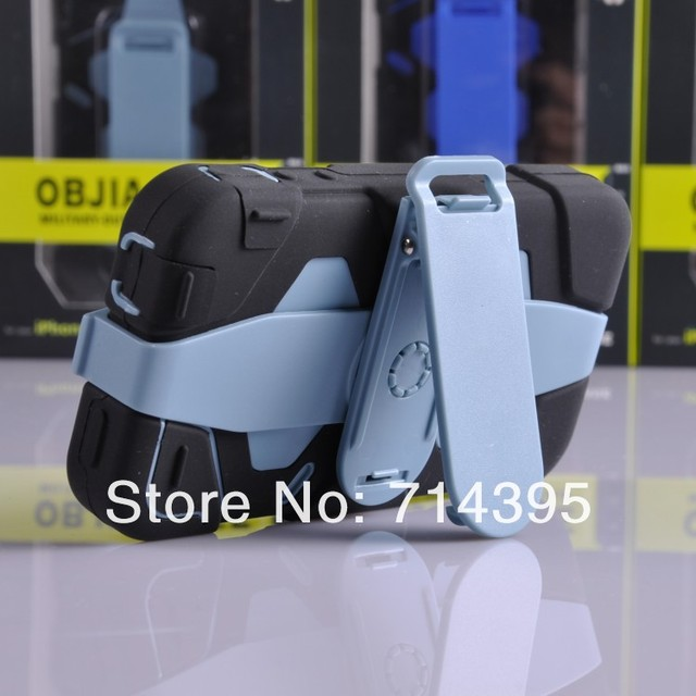 Free Shiping water/Dirt/Shock Proof with silicon phone case