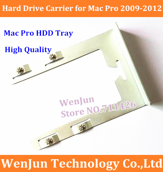Free Shipping MacPro Hard Drive Carrier Sled Bracket and Screws High Quality HDD Tray for Mac Pro 4.1/5.1 Desktop 2009-2012(China (Mainland))