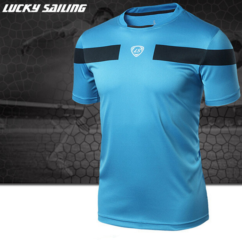 Brands men Tennis shirt Outdoor sports Running Fitness Gym Training and exercise badminton men's Short-sleeve t-shirt tops tees(China (Mainland))