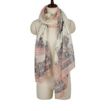 Brand New Fashion Women Long Print Cotton Scarf Wrap Ladies Shawl Girls Large Silk Scarves(China (Mainland))