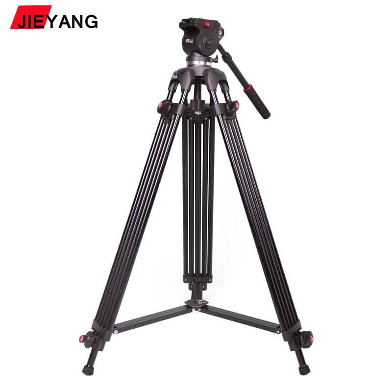 PROGO JY0508B JY-0508B 6KG height 185cm Professional Video Tripod/Dslr VIDEO Tripod Fluid Head Damping for video wholesale(China (Mainland))