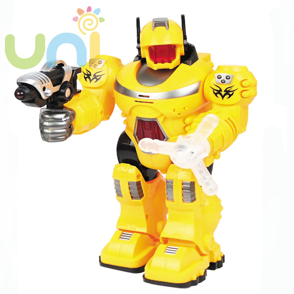 HOT Sell Genuine Robot Model English Sound Rotating Light Arm Swing up and down Children Action Figures Toys For Kids 243082W(China (Mainland))