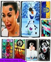 Hot Brand Cool Beauty Girl Crying Skin Custom Painted Mobile Cellphone Cover Case For Nokia lumia 525 526 520 Hard Plastic