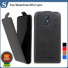 Buy Factory price, Top new style flip PU leather case open HomTom HT17 pro, gift for $4.24 in AliExpress store