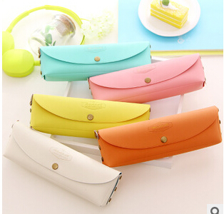Creative stationery Lovely delicate candy cortex stationery bags Pen bag(China (Mainland))