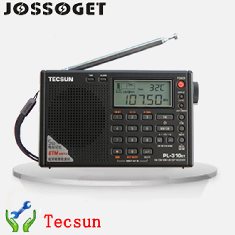 HOT Tecsun PL-310ET Portable Stereo FM Redio FM/AM/SW/LW Full Band DSP Redio Digital Demodulation Redio ClockFree Shipping <br><br>Aliexpress