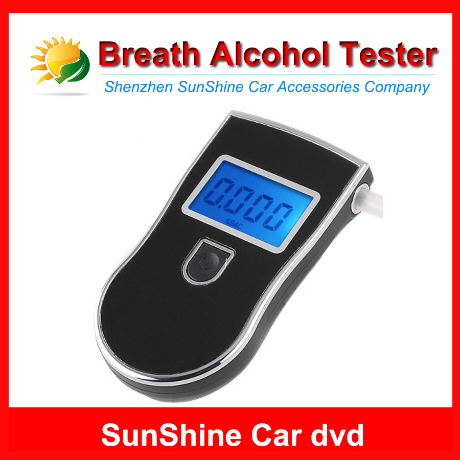 Prefessional Police Digital Breath Alcohol Tester battery the Breathalyzer Dropship Parking Car Detector Gadget Gadgets Meter(China (Mainland))