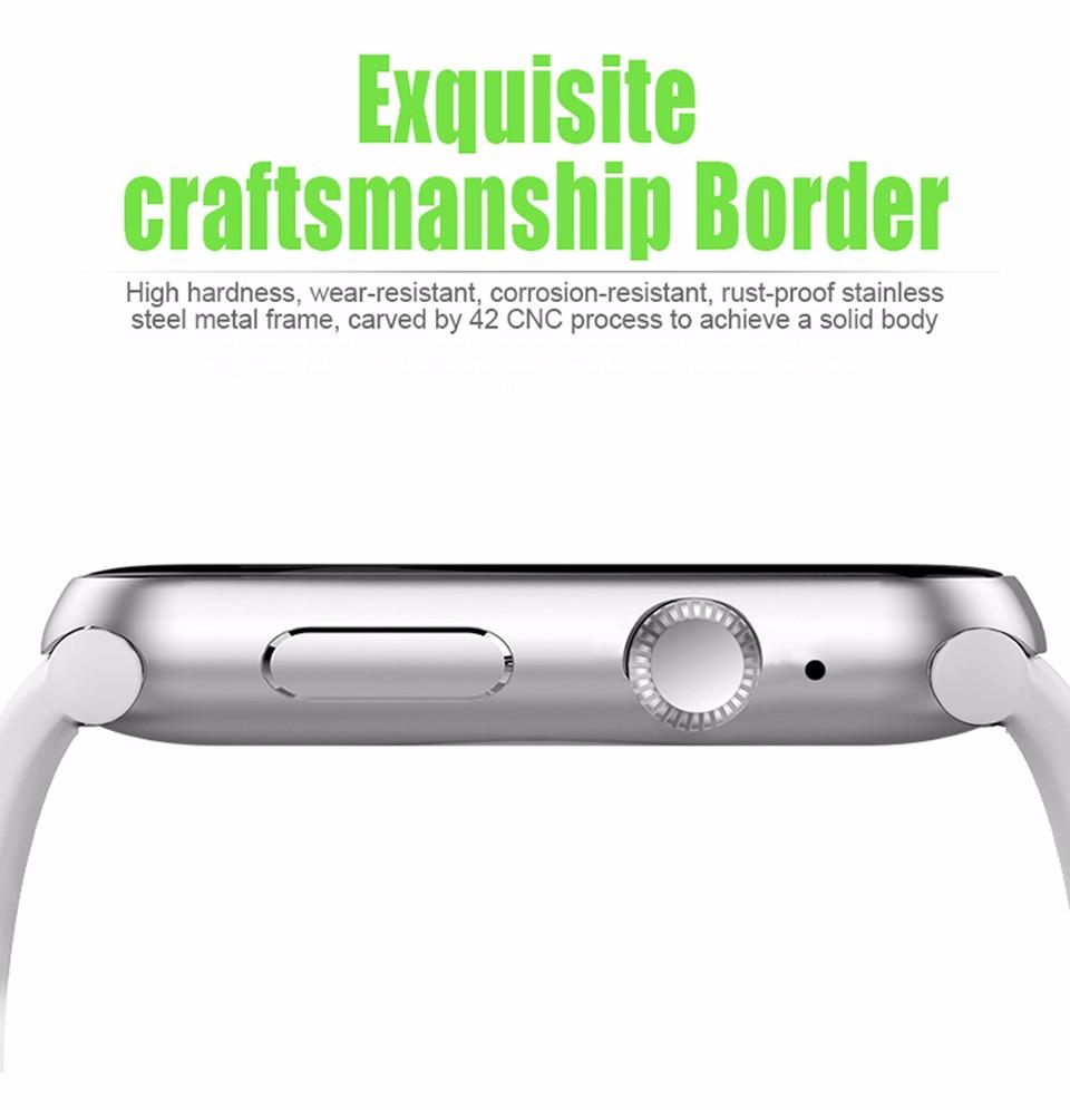 SHAOLIN Bluetooth Smart Watch 11 SmartWatch for apple iPhone IOS Android Smartphones looks like apple watch Reloj Inteligente-9