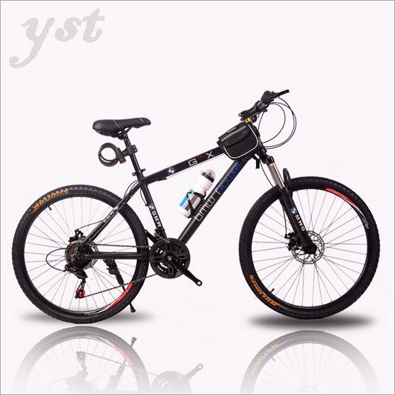 Cycling Bicycle Aluminum 24-speed / double disc suspension mountain bike mountain bicycle Wholesale free shipping,RJ0975(China (Mainland))