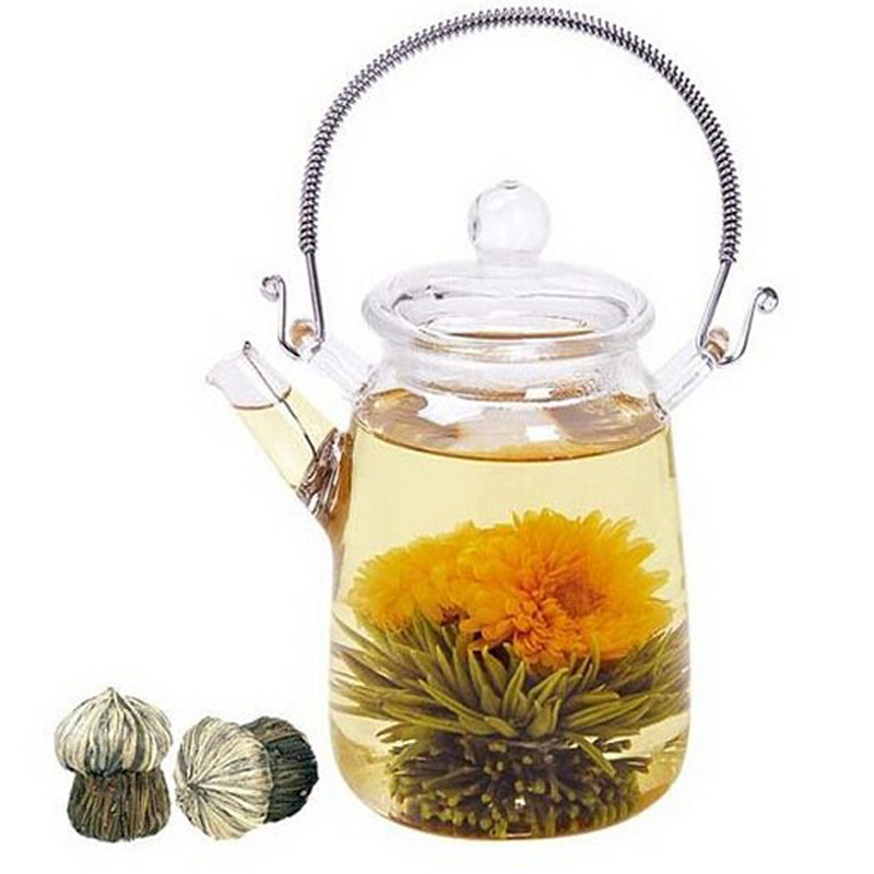 Promotion 10 Pcs blooming tea natural flower tea organic natural blooming flower tea in Individual vacuum