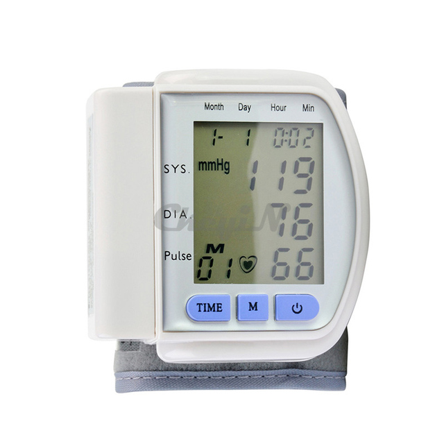 Автоматические наручные сфигмоманометр Tensiometros монитор кровяного давления цифров ...