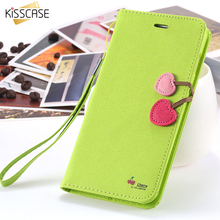 Buy KISSCASE Case iPhone 6 S 7 Plus Wallet Stand Flip Leather Full Cute Phone Accessories Cover iPhone 6s 7Plus Capa Fundas for $3.53 in AliExpress store