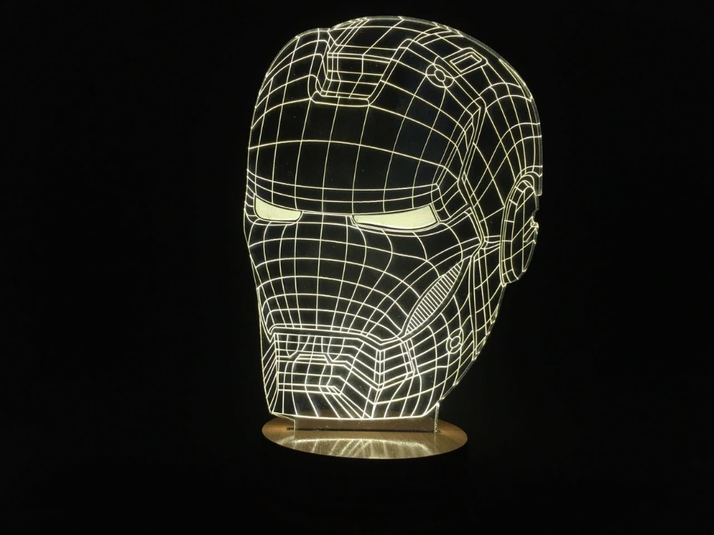 The Avengers Wall Lamps : Avengers hulk head 3d wall lamp night light top-of-clinics.ru