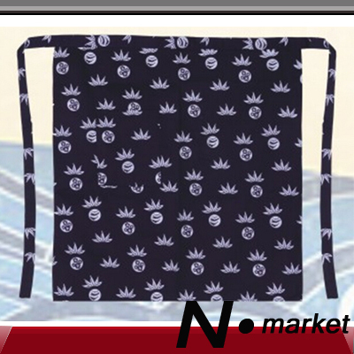 2015 New Update Wholesale 30 pieces Sushi Japan Food Kitchen Apron Master Half Restaurant Japanese Print Blue White Chef Apron(China (Mainland))