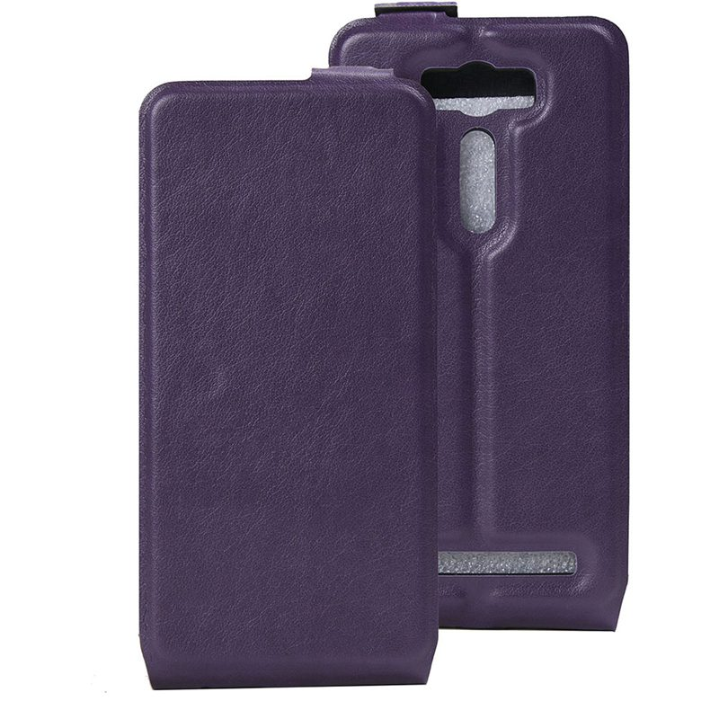 TUKE PU Leather Case Skin Asus Zenfone 2 Laser ZE500KL ZE500KG (5.0 inches) Phone Bag Card Holder  -  SEGO store
