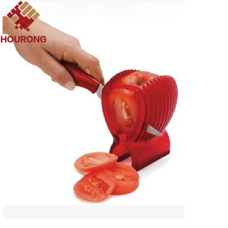 1PC Potato Onion Fruit Vegetable Cutter Tomato Slicers Holder Slicer Guide(China (Mainland))