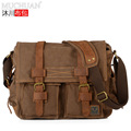 KAUKKO Brand Irregular Style New 2013  Vintage Casual Canvas Bag Men