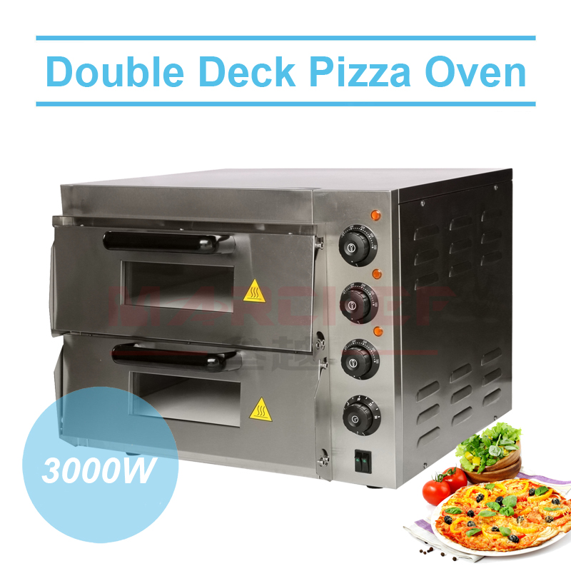 double lectrique pizza de cuisson oven bread oven. Black Bedroom Furniture Sets. Home Design Ideas