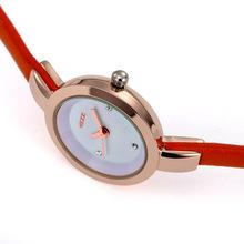 Free shipping Birthday girl gift watchband elegant ultra thin women s watch exquisite small ladies watch