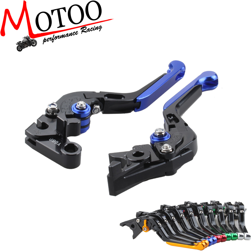 Motoo - Adjustable CNC 3D Extendable Folding Brake Clutch Levers For KAWASAKI Z750R 2010-2013  Z1000 2007-2014<br><br>Aliexpress
