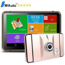 7 Inch Android GPS DVR Navigation Tablet Android 4.4 Wifi Bluetooth AV-IN FM 8G 512M Lens 170 Angle 1080P G-Sensor(China (Mainland))