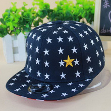 2016 new 3-8 ages Children Boys Girls Baseball Cap Jean Clothing Snapback Caps Five-pointed Star Outdoor Sports Hat C15(China (Mainland))