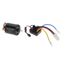GoolRC 540 35T 4 Poles Brushed Motor and WP-1060-RTR 60A Waterproof Brushed ESC with 5V/2A BEC for 1/10 RC Car(China (Mainland))
