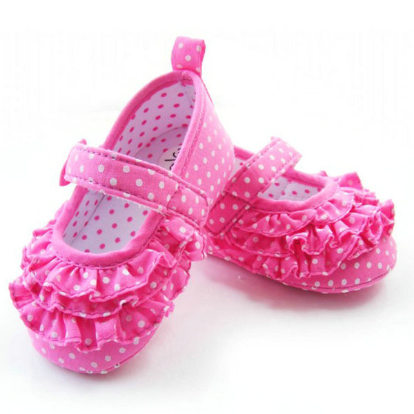 Baby Girl Soft Sole Crib Shoes Toddler Sneaker Infant Baby Shoes Age 0-18 Months