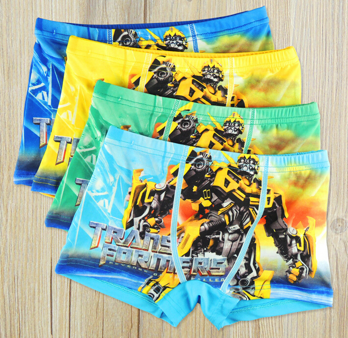 4pcs/Lot Children Boys Boxer Kids Shorts Brief Boys Underwear Cueca Infantil Calcinha Infantil Cartoon Panties Clothing(China (Mainland))