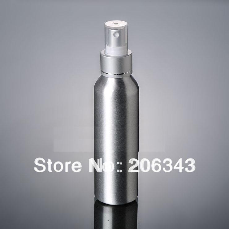 100pcs 120ml Aluminium bottle pump sprayer bottle black pump spray head Aluminum metal bottle spray bottle mist sprayer