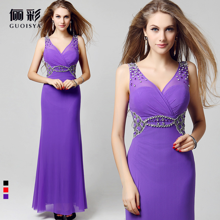 Cheap chiffon 2016 light purple long lavender bridesmaid for Cheap plus size wedding dresses under 50