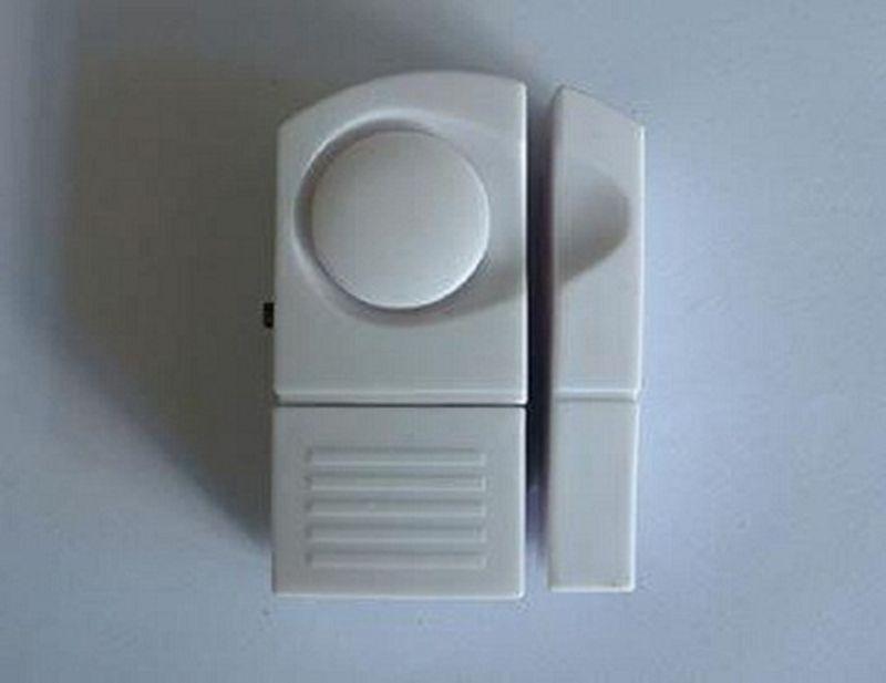 Free Shipping!!!Wireless Mini Smart Window/Door Sensor Home Security Alarm System with DIY Simple Design(China (Mainland))