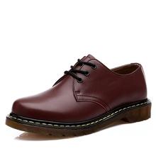 Top quality Dr. martin men boots vintage style men shoes fashion ankle boots famous shoes women genuine leather boots