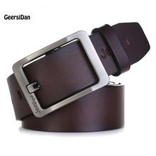 Buy 2017 belt men genuine leather luxury strap male belts men pin buckle fancy vintage jeans cintos masculinos ceinture homme for $11.99 in AliExpress store