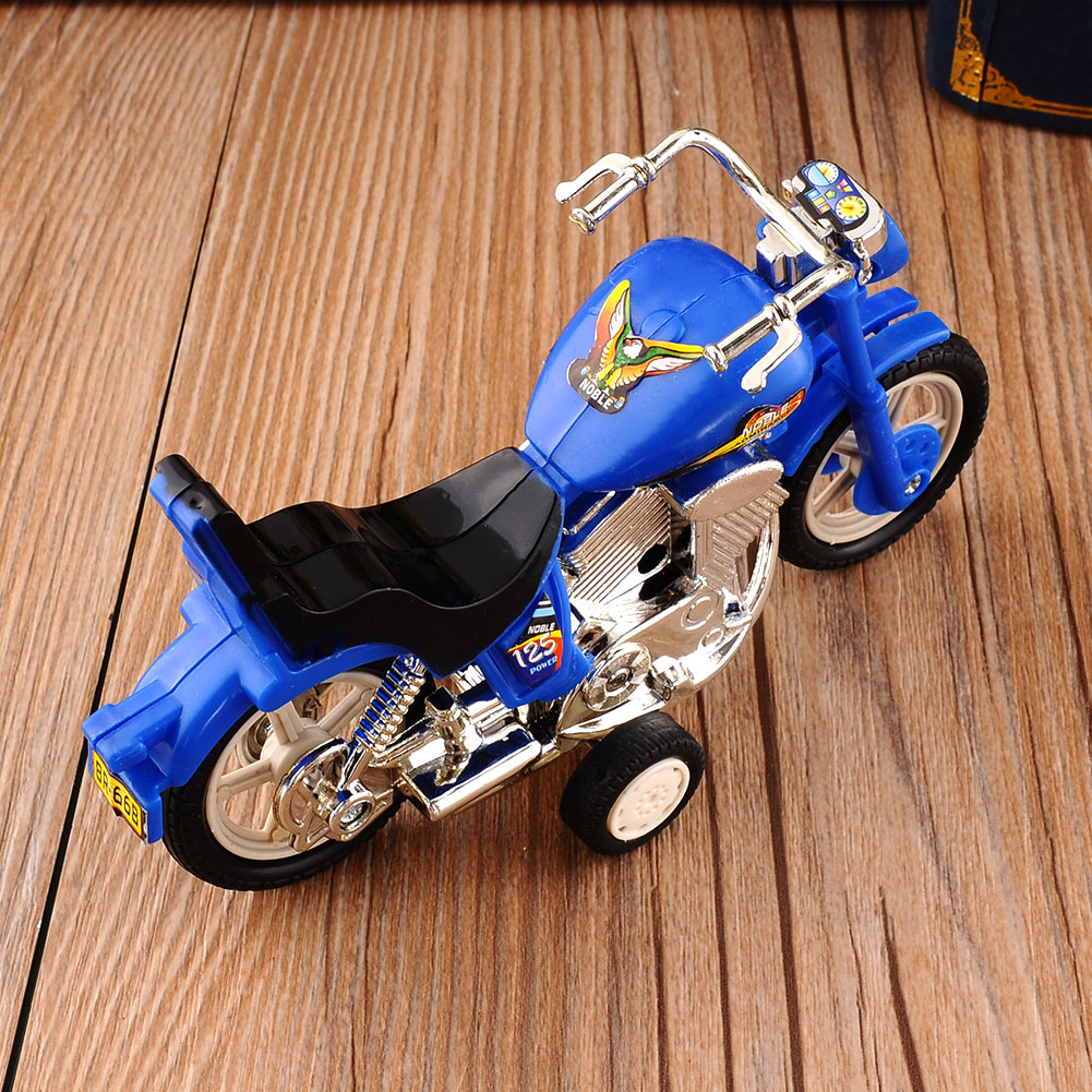 Plastic Pastime Assortment Bike  Exchange Youngsters Present Boys & Women Motorbike Bike Toy Mannequin Random