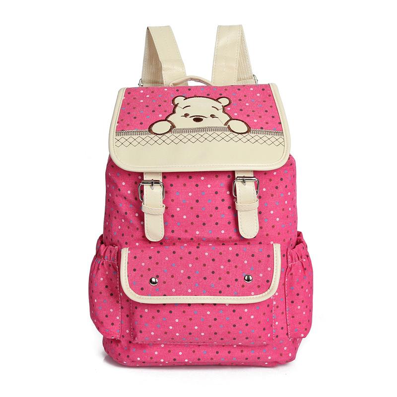 Cool Women Canvas Handbags Large Shoulder School Bags For Teenagers Girls