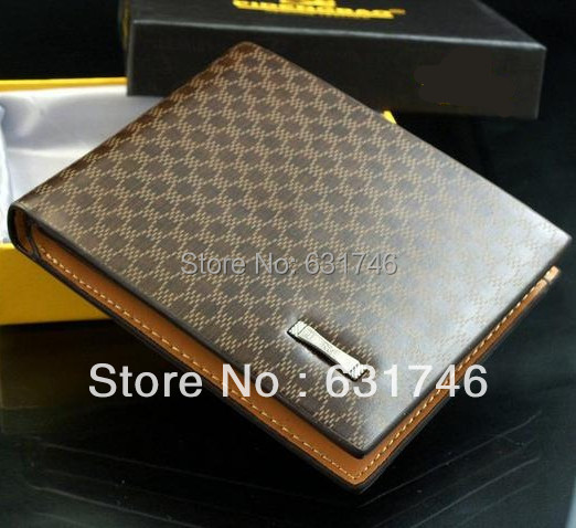 Classical Men's PU Leather The Look Wallet Pockets Card Collector Bifold Purse()