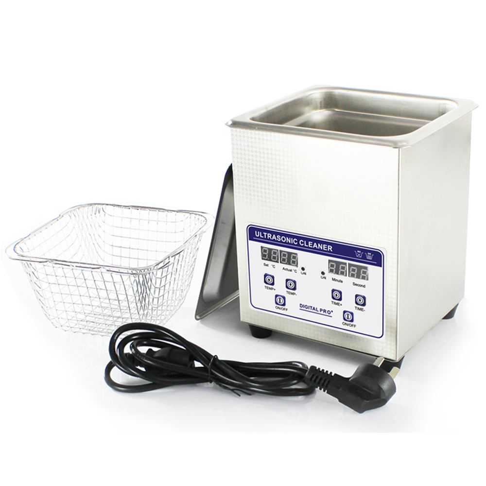 Skymen Stainless Steel Industry 2L Ultrasonic Cleaner Bath Ultra Sonic Wave Digital w/Timed Heated Cleaning Tank(JP-010S)(China (Mainland))