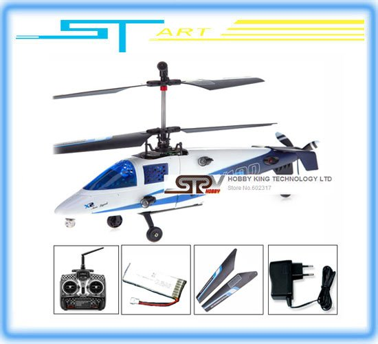 EMS Super Mini Coaxial 2.4G 4ch rc helicopter Walkera X100 With Gyro Free Shipping(China (Mainland))