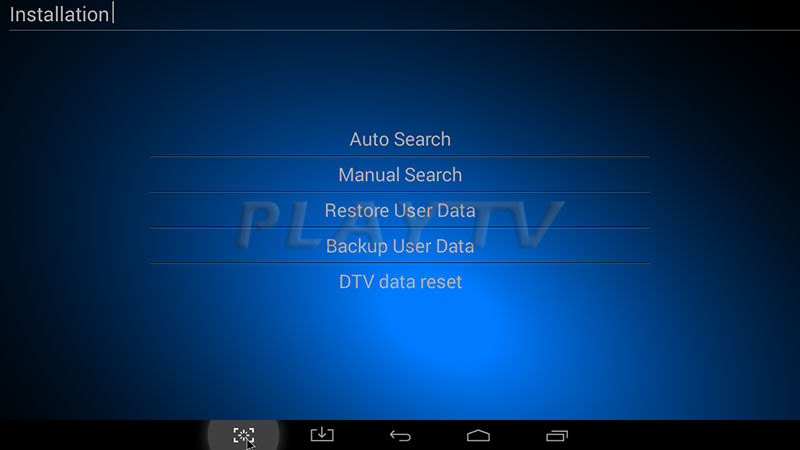 Backup and restore android app data monitor