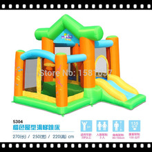 inflatable bouncer trampoline castle bouncer Jumping for sale china bouncer playground house games toys pump outdoor (China (Mainland))