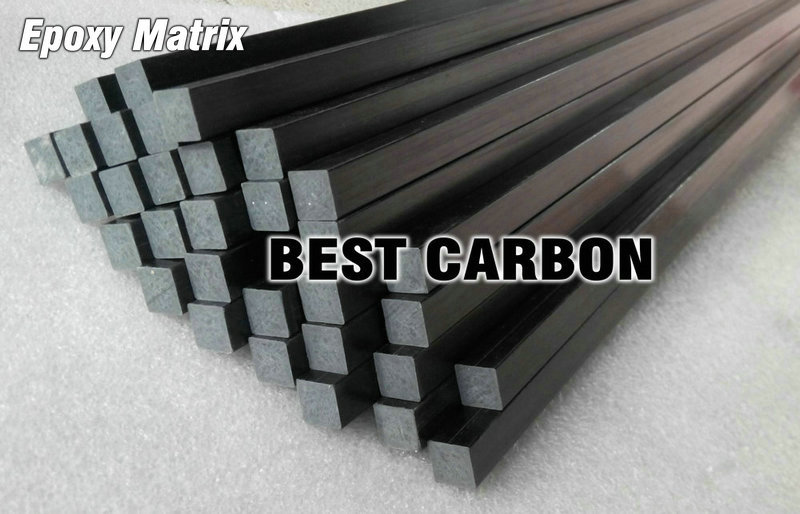 10mm  x 1000mm Pultruded Square Solid Carbon Fiber Rod<br><br>Aliexpress