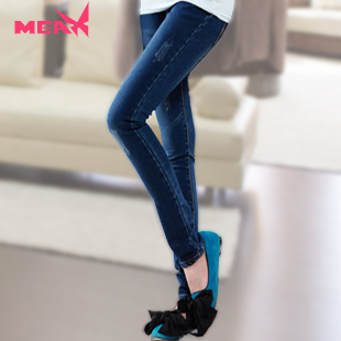 Fashion plus size autumn winter maternity clothing jeans belly pants pencil pants maternity pants long trousers<br><br>Aliexpress