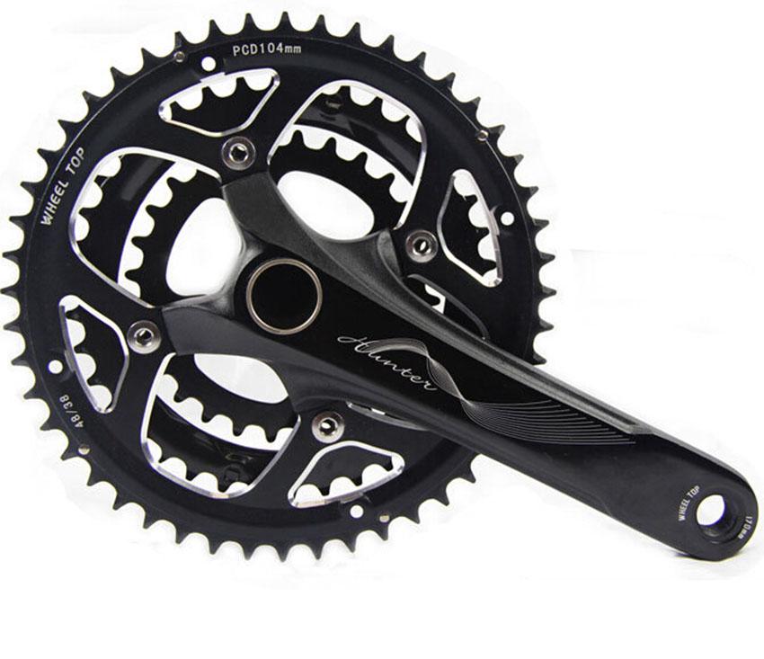 Crankset mountain bike gear chainring bolts Bicycle Parts 9 speed mountain bike chainwheel BMX Cranks WT-002 free shipping<br><br>Aliexpress