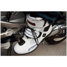 PRO-BIKER motorcycle boots male knight boots shoes road racing shoes, motorcycle riding boots slip shoes size 38–45