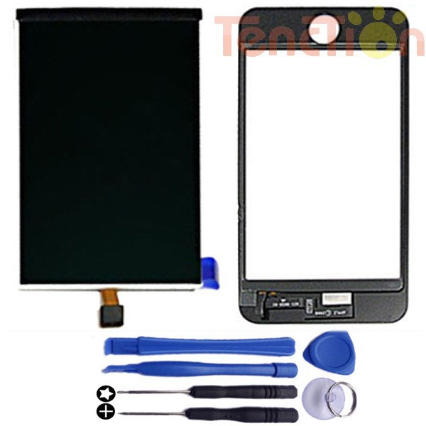 LCD Display +Touch Screen Digitizer Front Panel Glass Lens for Apple iPod Touch 3 Gen iTouch 3rd 3G 16 32 64GB Opening Tools Set(China (Mainland))