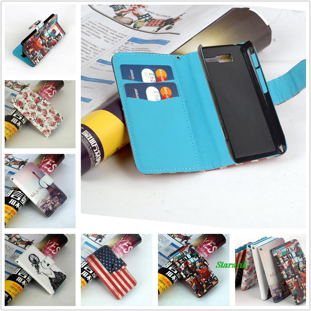 Jia&HH Fashion Design Cute Flip Leather case for Motorola RAZR D3 XT919 XT920 Wallet Cover with 2 ID Card Holder(China (Mainland))
