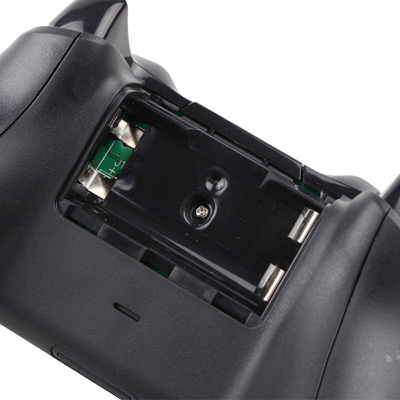 image for 2015 New Guaranteed 100% Black Wireless 2.4G Wireless Gamepad Joystick