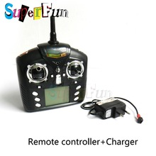 WLtoys v959# RC Quadcopter Charger+Remote controller Spare Parts . Free Shipping.