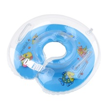 1pcs Tube Ring Safety Baby Aids Infant Swimming Neck Float Inflatable Newest Drop Shipping Wholesale(China (Mainland))
